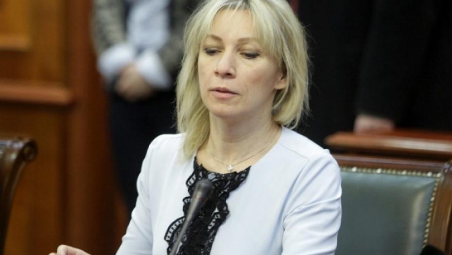MARIJA ZAHAROVA: Zabrinuti smo, Amerika naoružava Albance!