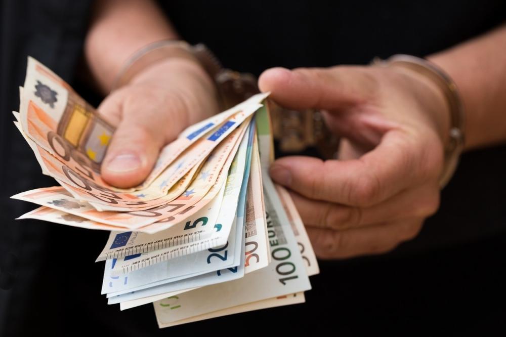 Hapšenje Novac Mito Korupcija