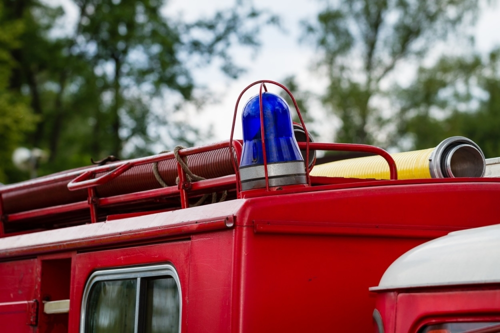 Vatrogasci Vatrogasac Požar