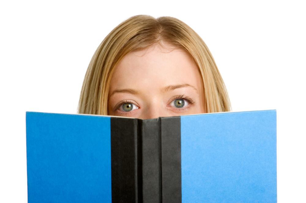 Devojka Devojčica Knjiga Sveska Čitanje