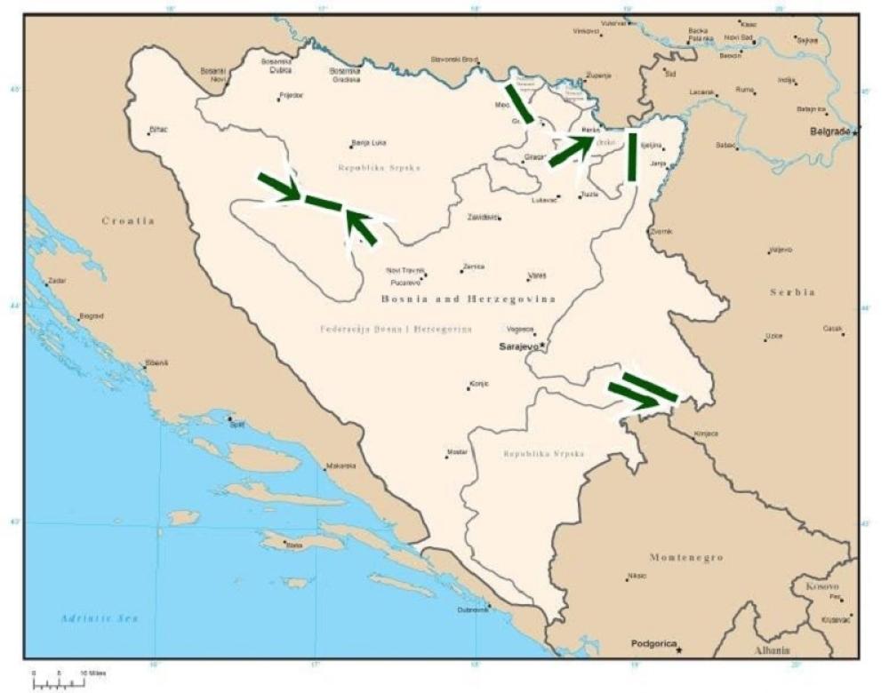 Objavljena Karta Za Unistenje Republike Srpske Alo Rs