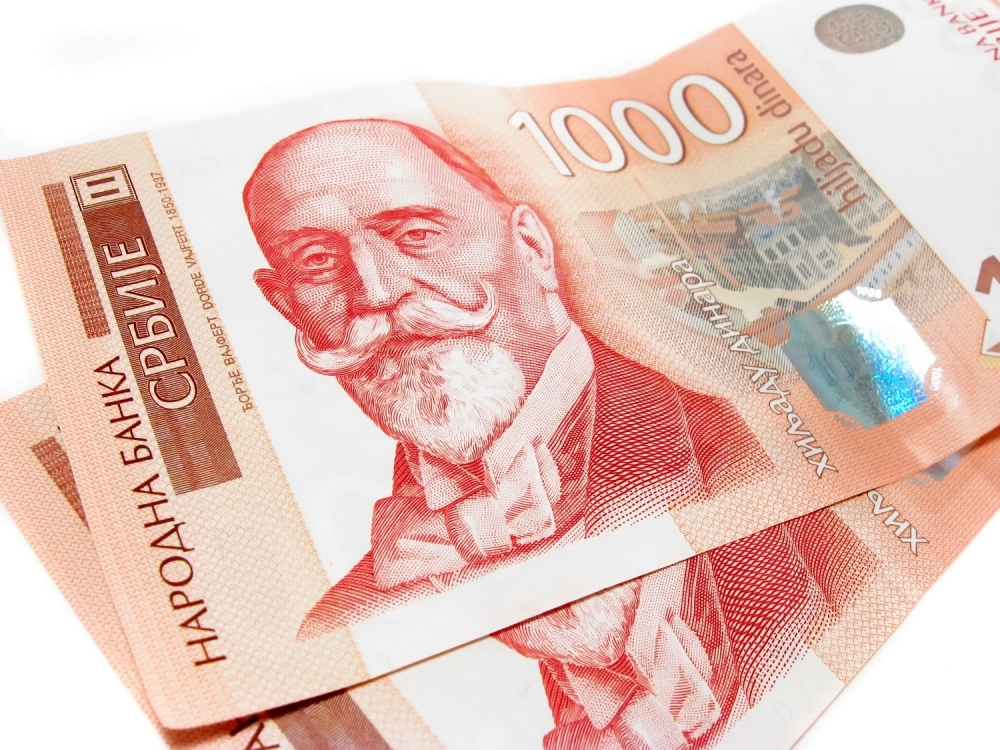 Dinar Dinari 1000 dinara Novac Pare