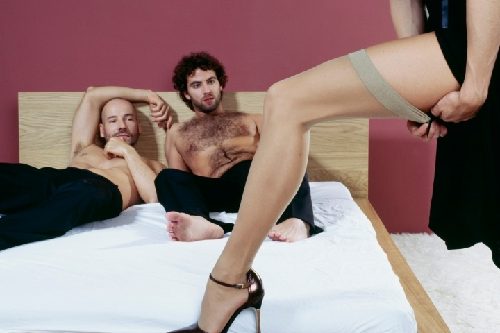 Supruga prvo troje seks