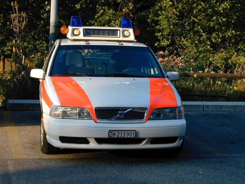 Švajcarska, policija
