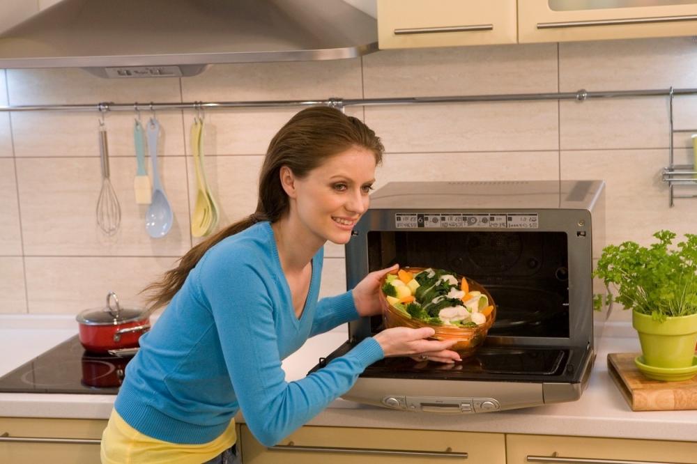 mikrotalasna kuvanje povrće