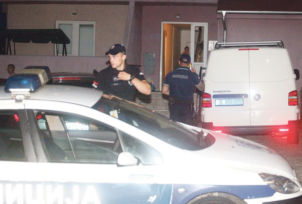 Uviđaj policija mesto zločina
