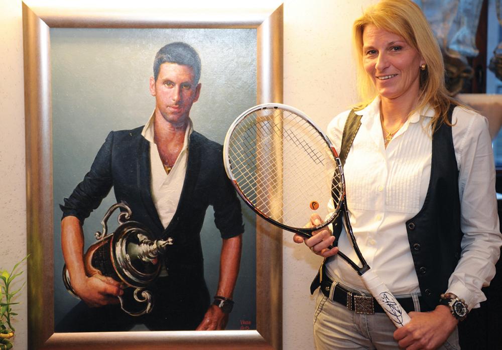 He does not miss Novak: Dijana Djokovic