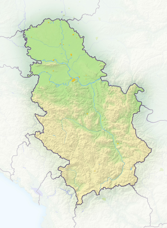 Ova Karta Je Podelila Srbiju Ismejani Su Svi Prostori A Posebno