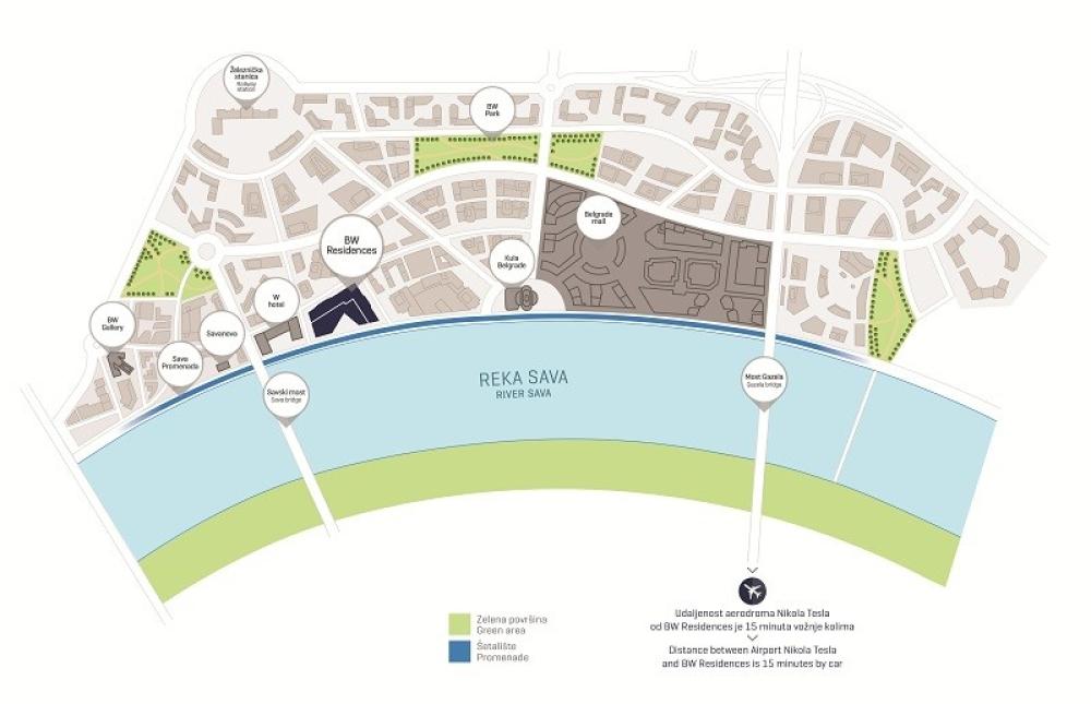 mapa beograda na vodi Fuzija bogatog nasleđa sa vizijom budućnosti!   alo.rs mapa beograda na vodi