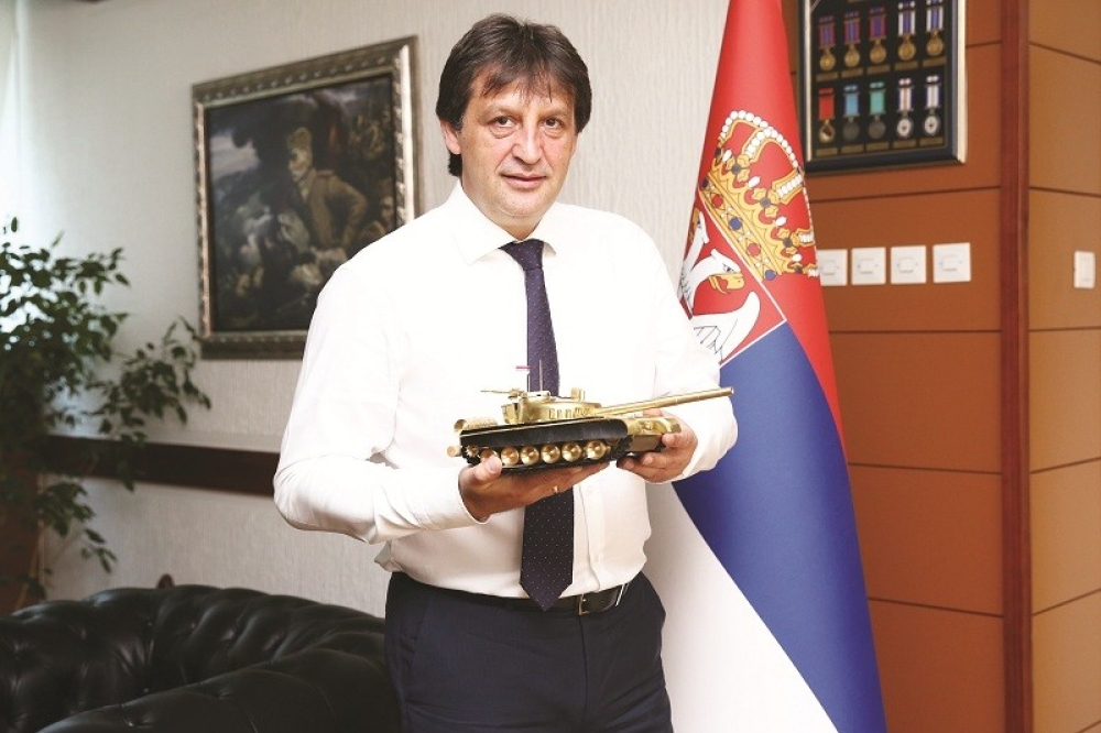 Ministar odbrane Bratislav Gašić