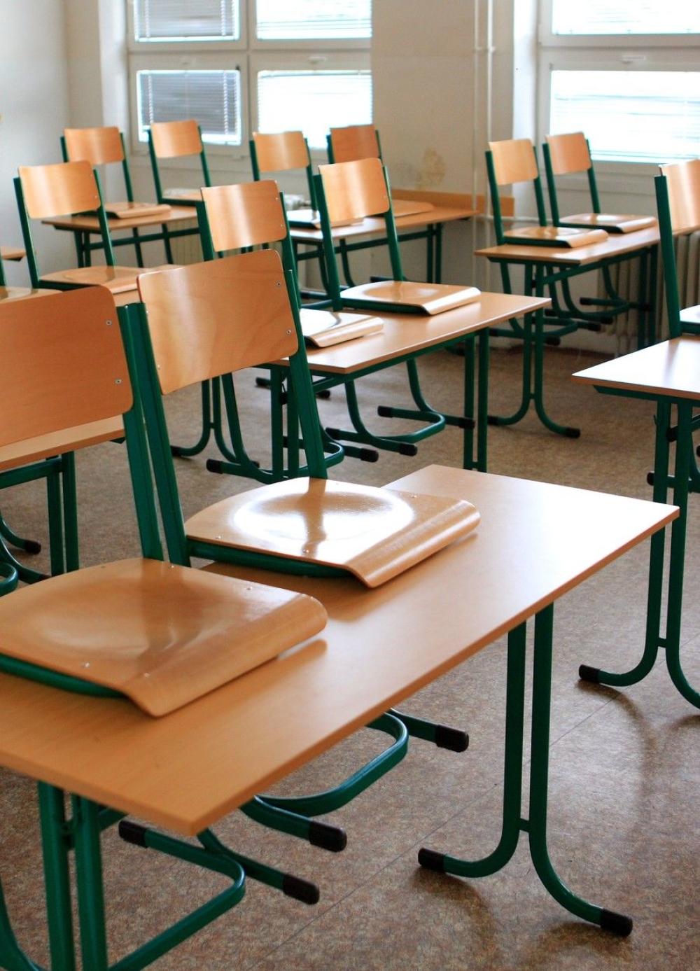 Škola učionica prazna učionica