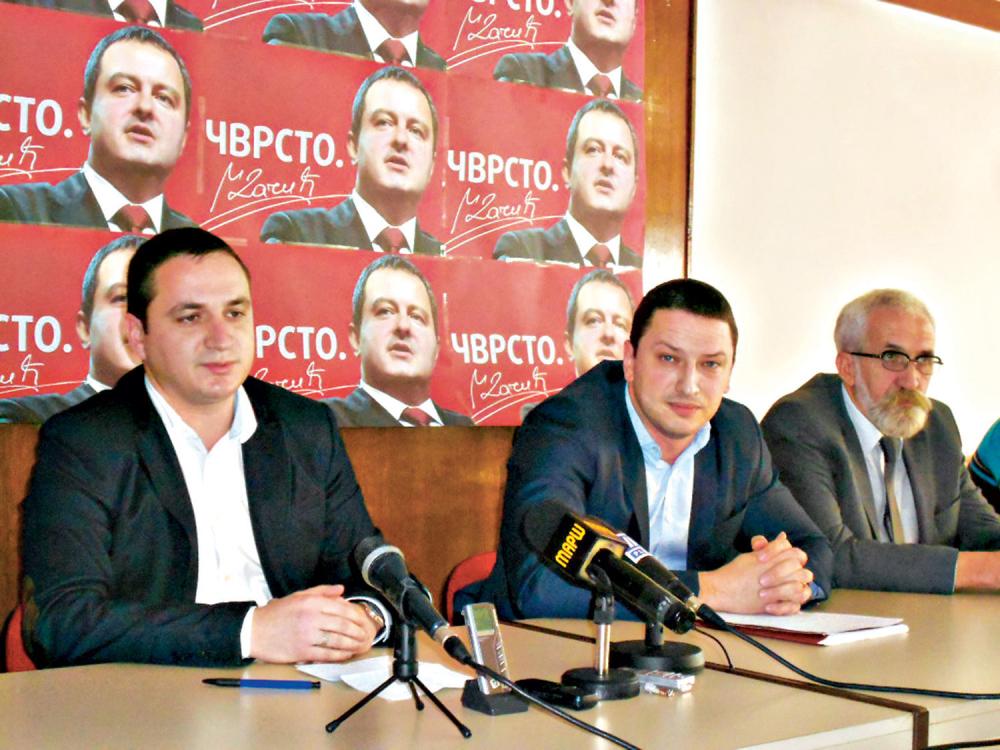 Socijalisti i  novosrbijanci  zajedno na izbore