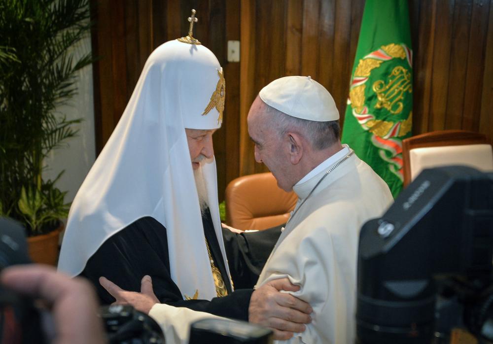 Patrijarh Kiril i papa Franja o napadima u Siriji - alo rs