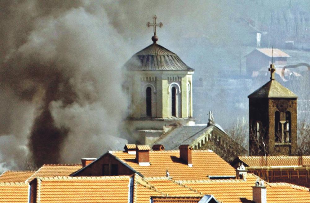 U martovskom pogromu uništene srpske crkve