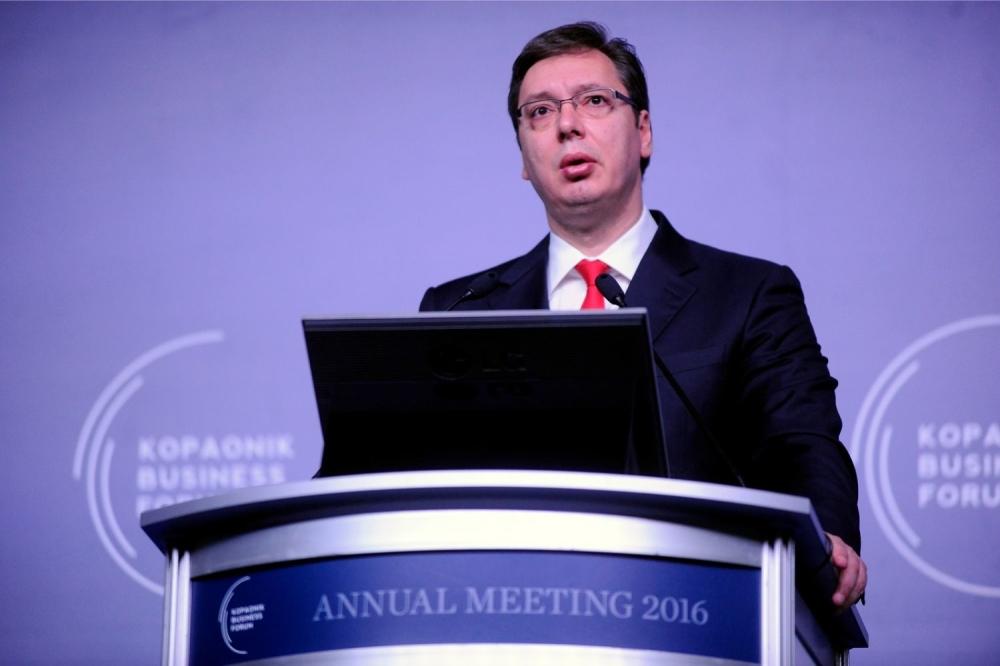 Aleksandar Vučić Kopaonik biznis forum 08032016