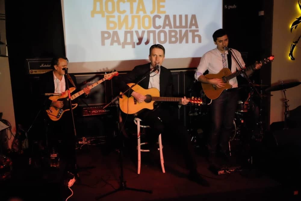 Izborni štab Dosta je bilo Saša Radulović