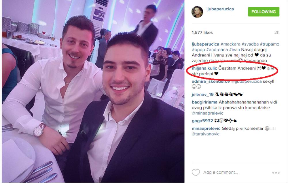 Miljana kulic instagram