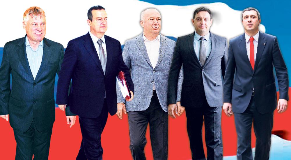 Ruska opcija:  Lazanski, Dačić, Popović, Vulin i Obradović