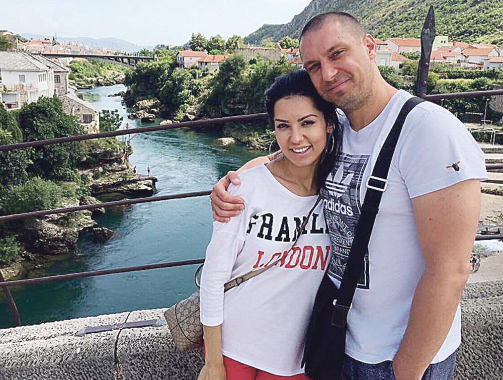 Tanja Savić sa mužem