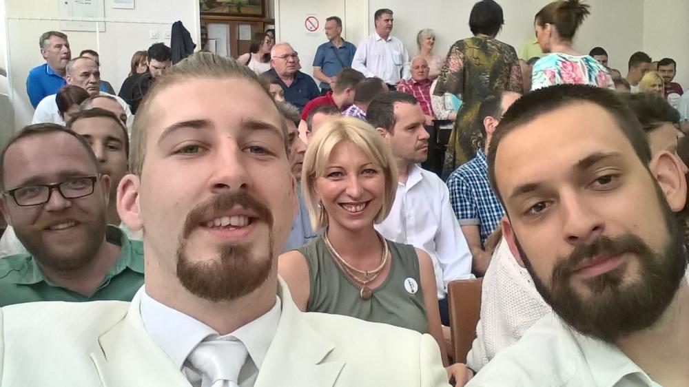 Beli u Skupštini SO Mladenovac