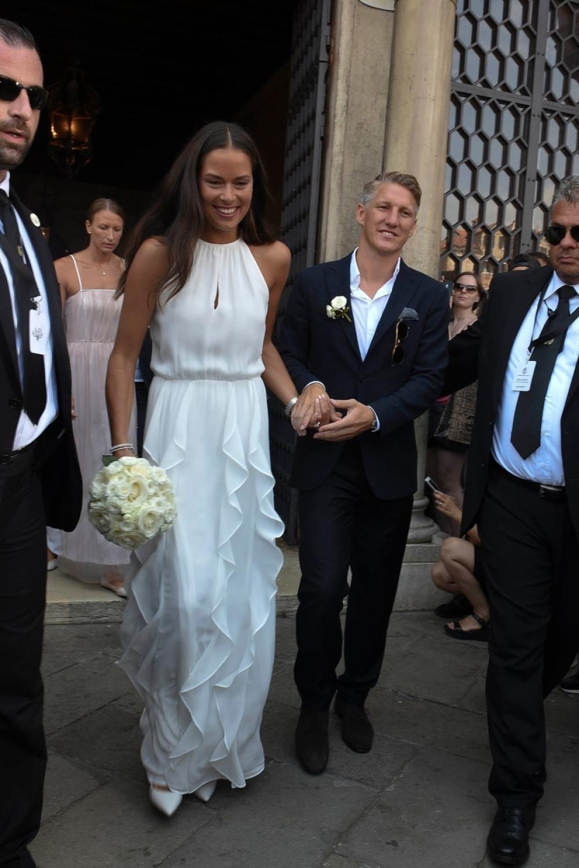 Ana Ivanović i Bastijan Švajnštajger, svadba, venčanje