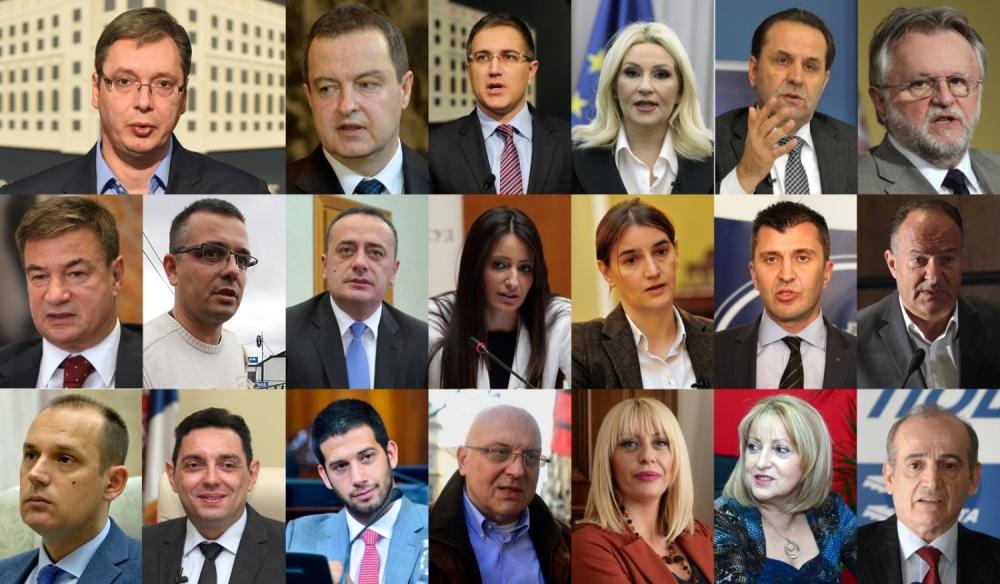 Ministri u vladi 2016
