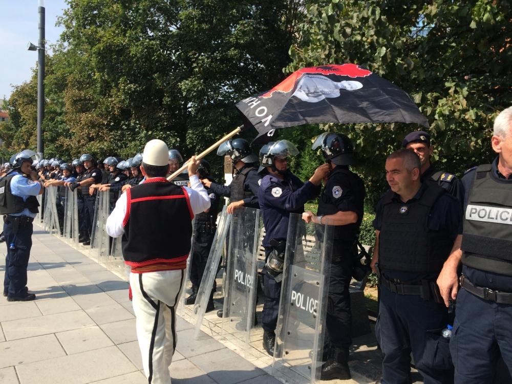 Protest Priština