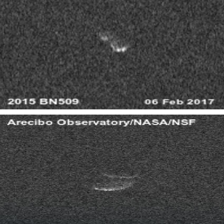 Risultati immagini per asteroide 2015 BN509