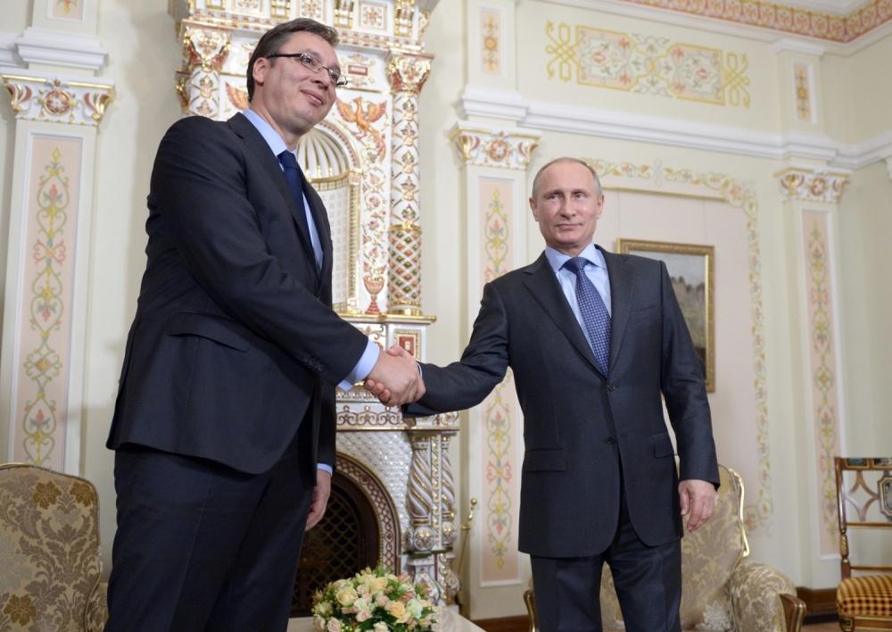 Saradnja na zavidnom nivou: Vučić i Putin