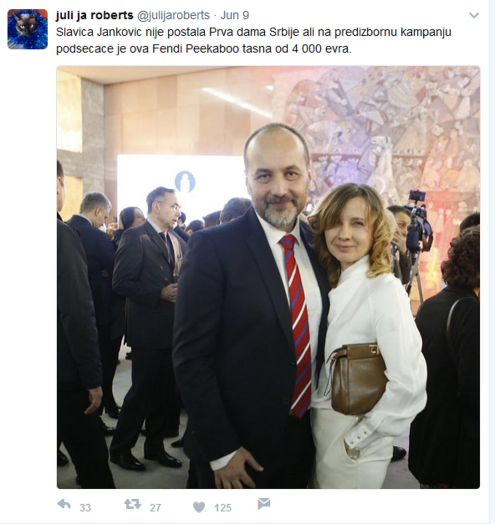 Slavica i Saša Janković