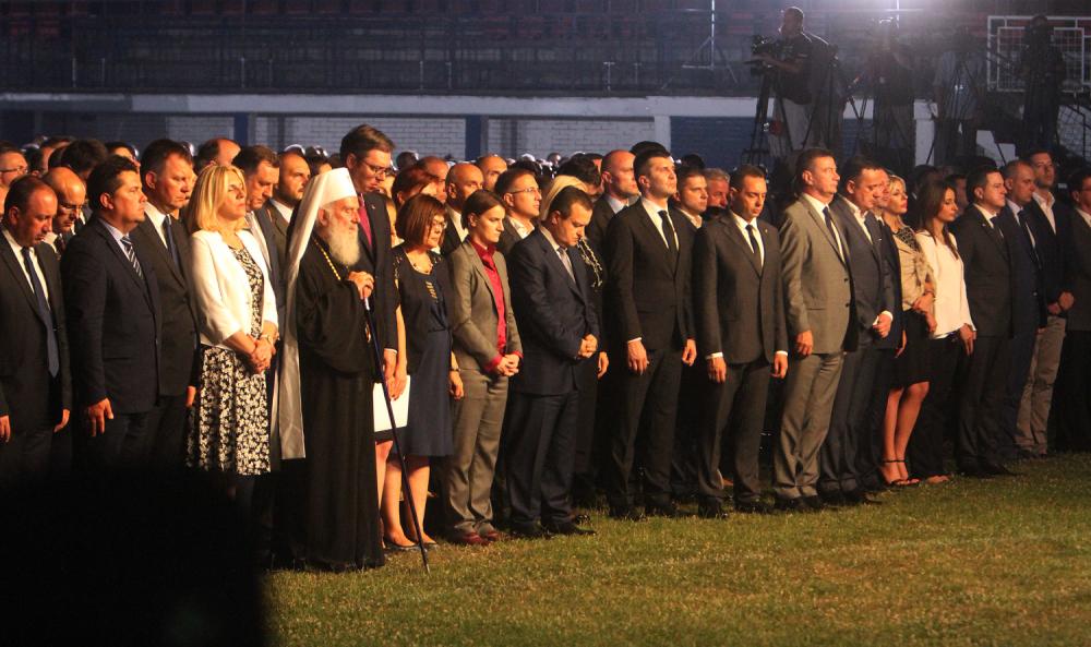 Državni vrh u Novom Sadu na obeležanjanju godišnjice Oluje
