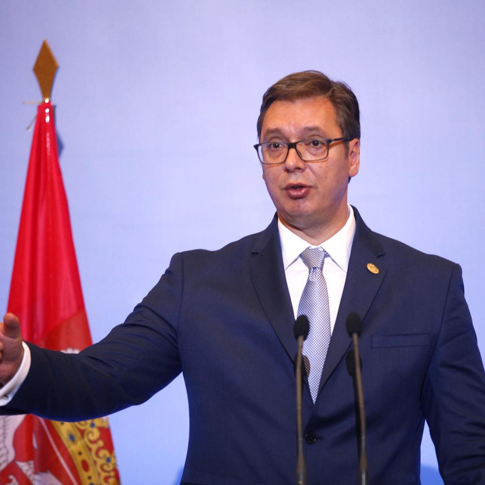 ODGOVORIO NA PROVOKACIJE Vučić: Smatram da je Kosovo Srbija, da li vas provociram? Ili šta? pre 24m 7