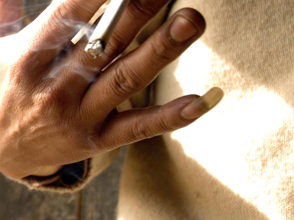 Nokat, muškarac, mali prst