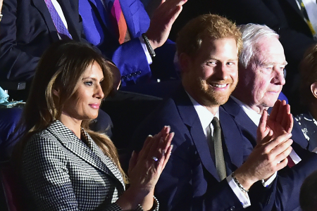 Melanija Tramp i princ Hari