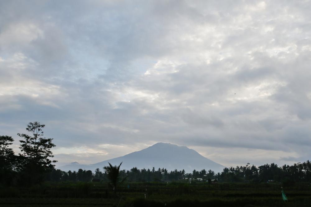 vulkan på bali