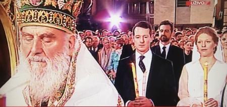 Venčanje princa Filipa Karađorđevića i Danice Marinković