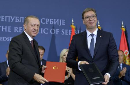 Erdogan i Vučić
