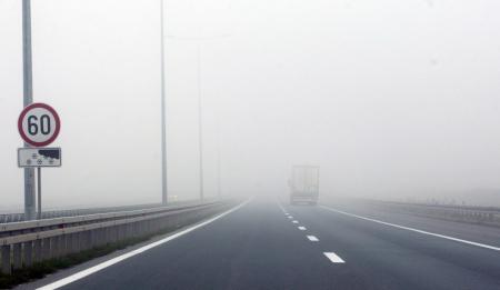 Magla autoput
