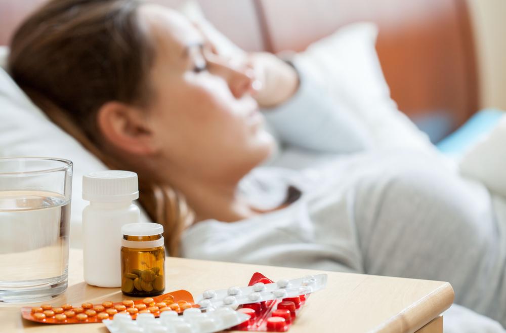 Prehlada grip bolest temperatura kijanje kašalj bronhitis