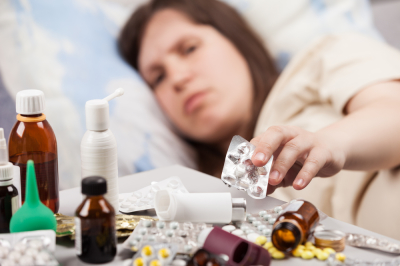 Cold-temperature disease kills cough bronchitis