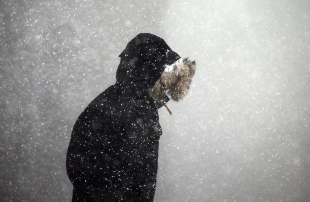 zima led nevreme snežna oluja sneg vremenska prognoza