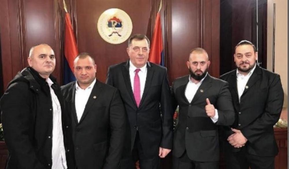 Dodik i jedinica Srpska čast