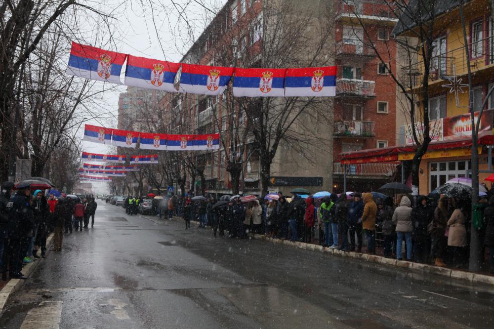 Doček Vučića Kosovska Mitrovica