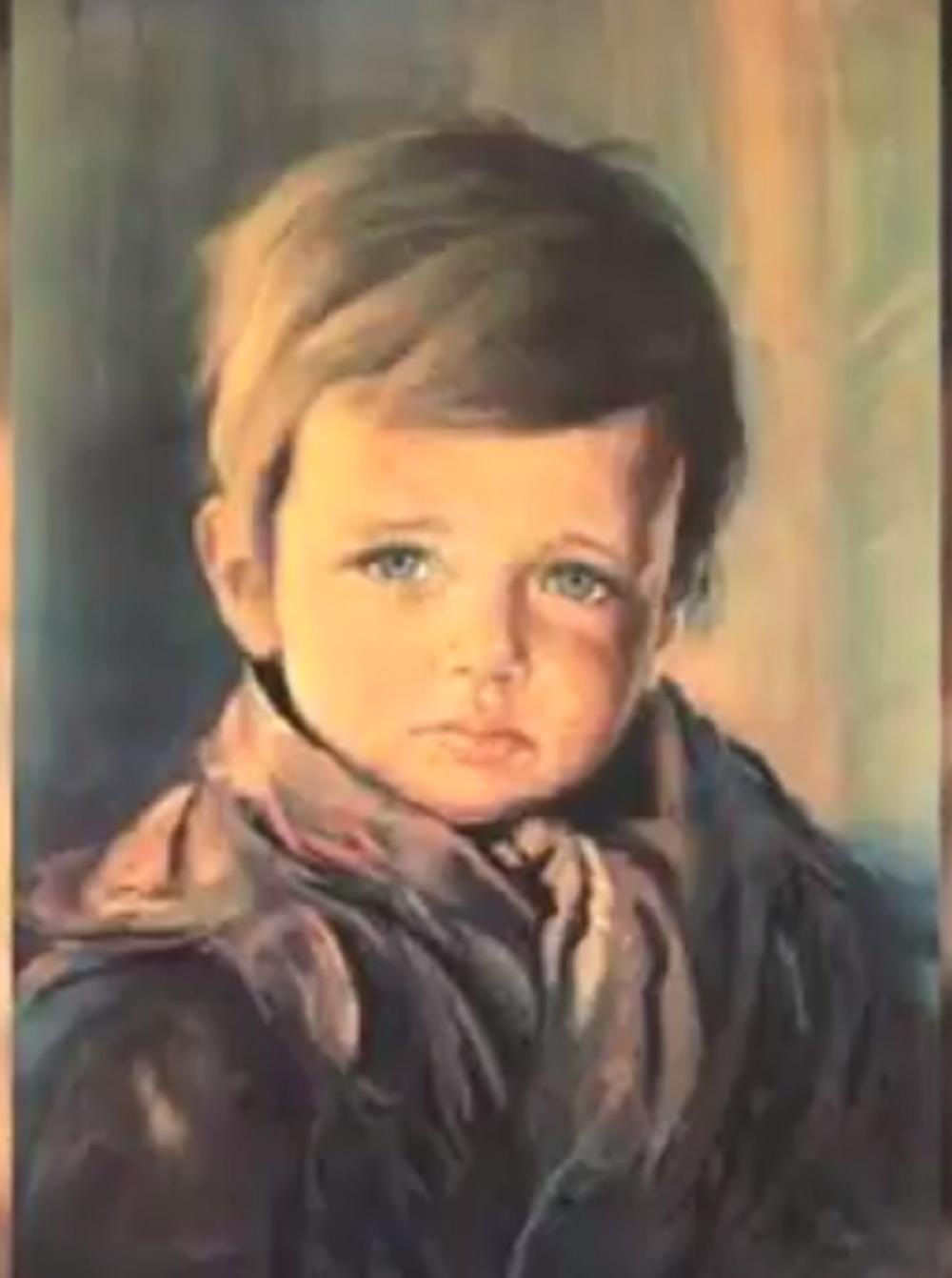 Jedna od verzija - Uplakani dečak