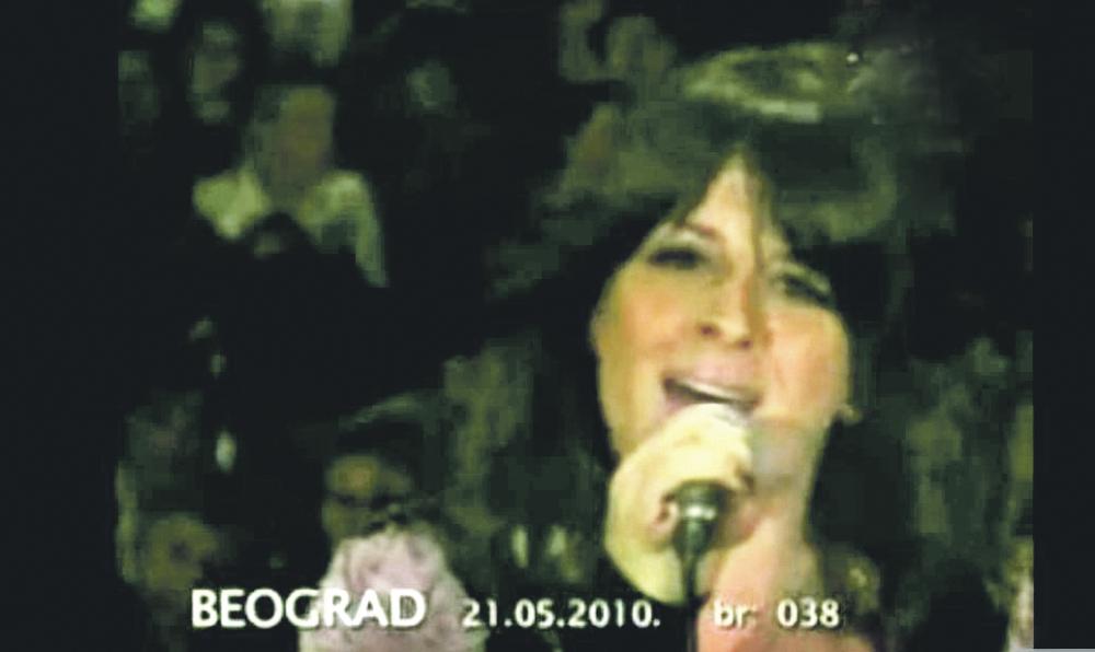 Ana Sević na početku karijere