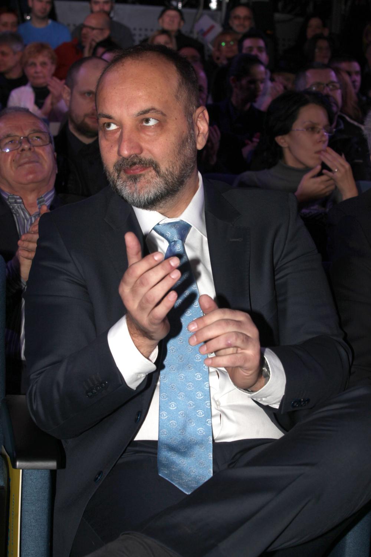 Dragan Đilas, Saša Janković, Vuk Jeremić predizborni skup