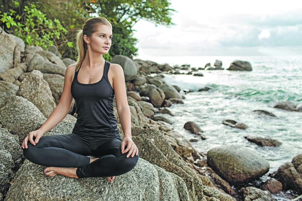 Joga meditacija proleće leto opuštanje