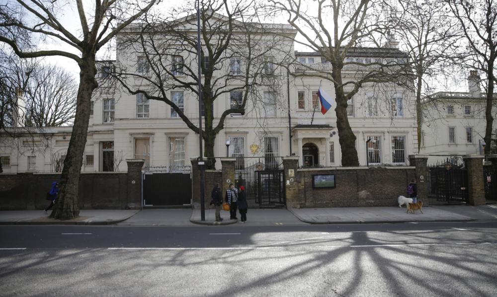 Ruska Ambasada U Londonu Primila Brojne Pretnje Alo Rs