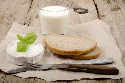 Breakfast, food, cheese, milk