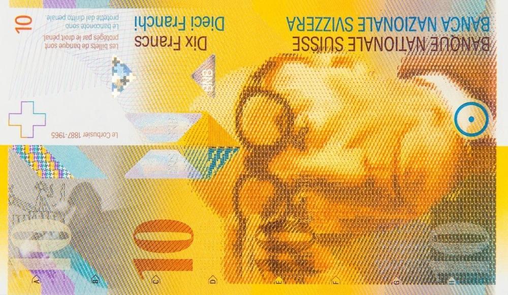 10 švajcarskih franaka